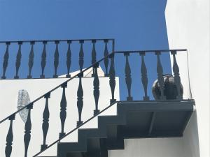 A balcony or terrace at Casa de São Bento