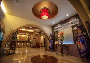 The lobby or reception area at Sakulchai Place