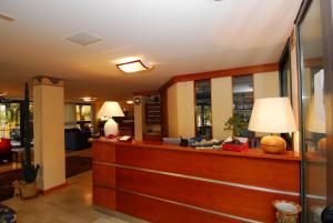 Hall o reception di Hotel Ambasciata
