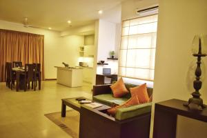 A seating area at Residence Colombo 03