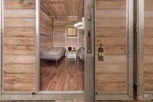 Ein Badezimmer in der Unterkunft Hannover Messe Camp