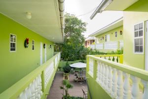 Uma varanda ou terraço em Apartamentu Holanda