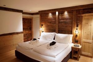 Ein Bett oder Betten in einem Zimmer der Unterkunft Apartment Scurcià 41