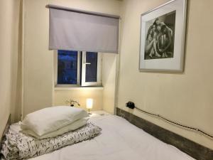 Кровать или кровати в номере Pasternak Hostel
