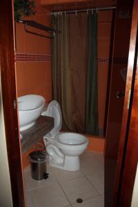 A bathroom at Residencial NG