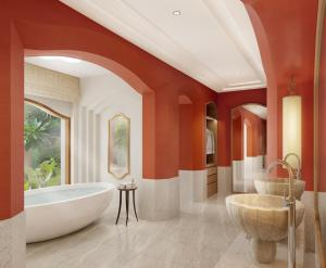 A bathroom at Phulay Bay, A Ritz-Carlton Reserve