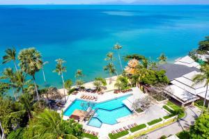 En udsigt til poolen hos Fair House Villas & Spa, Koh Samui eller i nærheden