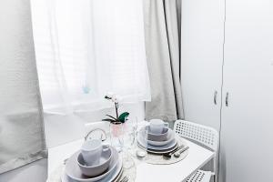 A bathroom at Превосходные апартаменты м. Новокоссино