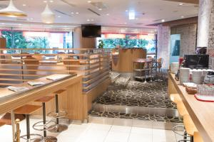 A restaurant or other place to eat at IBIS Tokyo Shinjuku