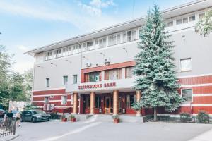 Отель Петровский зимой