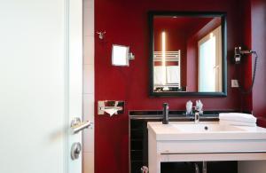 Ein Badezimmer in der Unterkunft Hotel Haverkamp
