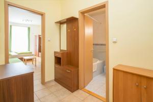A bathroom at Astra Apartments