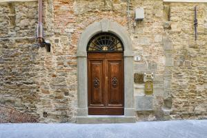 The facade or entrance of Palazzo Belfiore