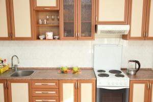 A kitchen or kitchenette at Green