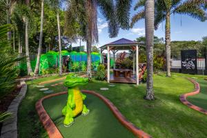 Children's play area at Cairns Coconut Holiday Resort