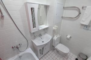A bathroom at Hotel Sevastopol Classic