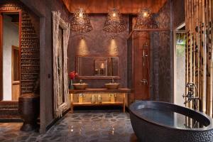 A bathroom at Keemala