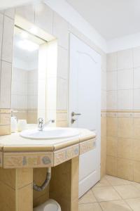 Ein Badezimmer in der Unterkunft Penzion Monika