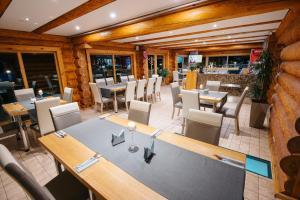 Restorāns vai citas vietas, kur ieturēt maltīti, naktsmītnē Atpūtas parks Lācītes