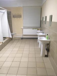 A bathroom at Форсети хостел в Шереметьево