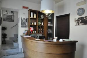 Лобби или стойка регистрации в Regalpetra Hotel