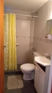 A bathroom at total servicios