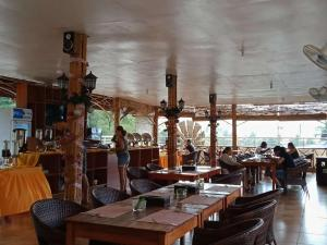 A restaurant or other place to eat at One El Nido Suite