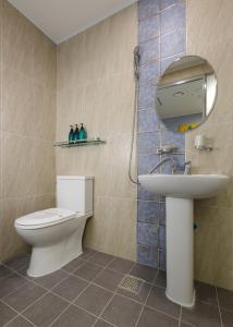 Ванная комната в Myeongdong Sunshine Guesthouse