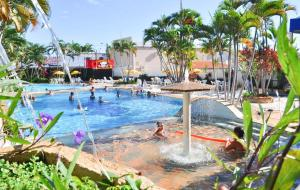 The swimming pool at or near Apart Acquaville Caldas Novas