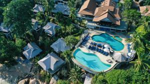 Coral Cliff Beach Resort Samui с высоты птичьего полета