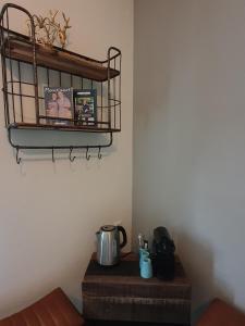 Koffie- en theefaciliteiten bij Slapen Bij Brownies & Downies