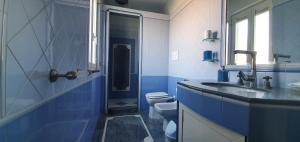 A bathroom at B&B La Casa Di Bruno