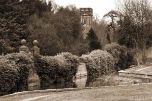 Bosworth Hall Hotel & Spa during the winter