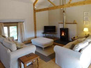 A seating area at Yondhill Barn - Okehampton