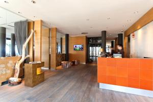 The lobby or reception area at Hotel AM MEER & Spa
