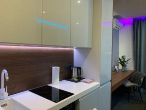 Koupelna v ubytování #7A WorkTravel Central MiniApart