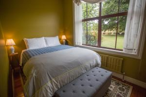 A bed or beds in a room at Allandale Lodge