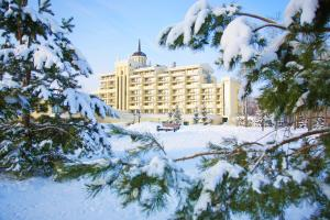 M`Istra`L Hotel & SPA during the winter