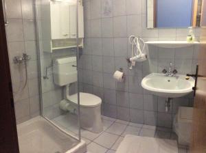 Ein Badezimmer in der Unterkunft Ferienwohnungen Kössl