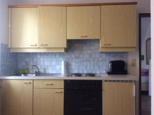 Küche/Küchenzeile in der Unterkunft Ferienwohnungen Kössl
