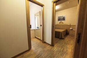 Ein Badezimmer in der Unterkunft Rifugio Sapienza