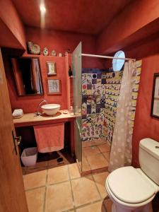 A bathroom at Hostel Argonauta