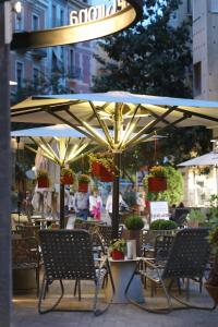 Een restaurant of ander eetgelegenheid bij Ciutat de Girona