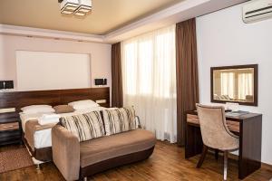 Кровать или кровати в номере Black Sea Guest House