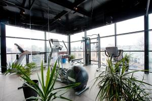 The fitness center and/or fitness facilities at Hotel Royal & Spa