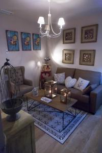 Zona de estar de Palacio Almagra