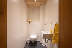 Ein Badezimmer in der Unterkunft GreberHof