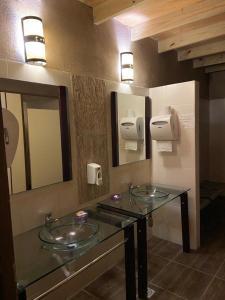 Un baño de Punta del Este Arenas Hotel
