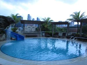 The swimming pool at or near Robertson Quay Hotel (SG Clean)