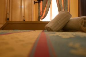 Letto o letti in una camera di Rodoflor B&B